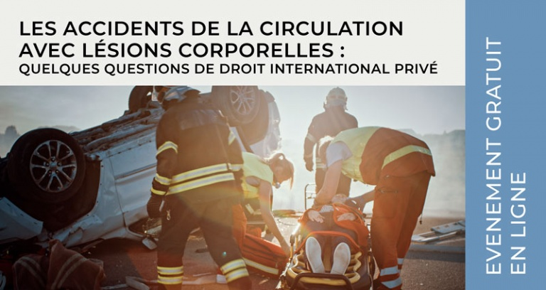 DIP / Les accidents de la circulation avec lésions corporelles